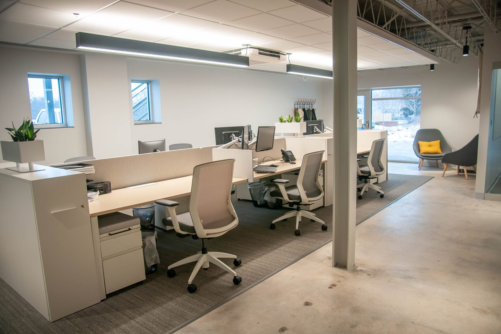 HNC Living Gallery Workstations