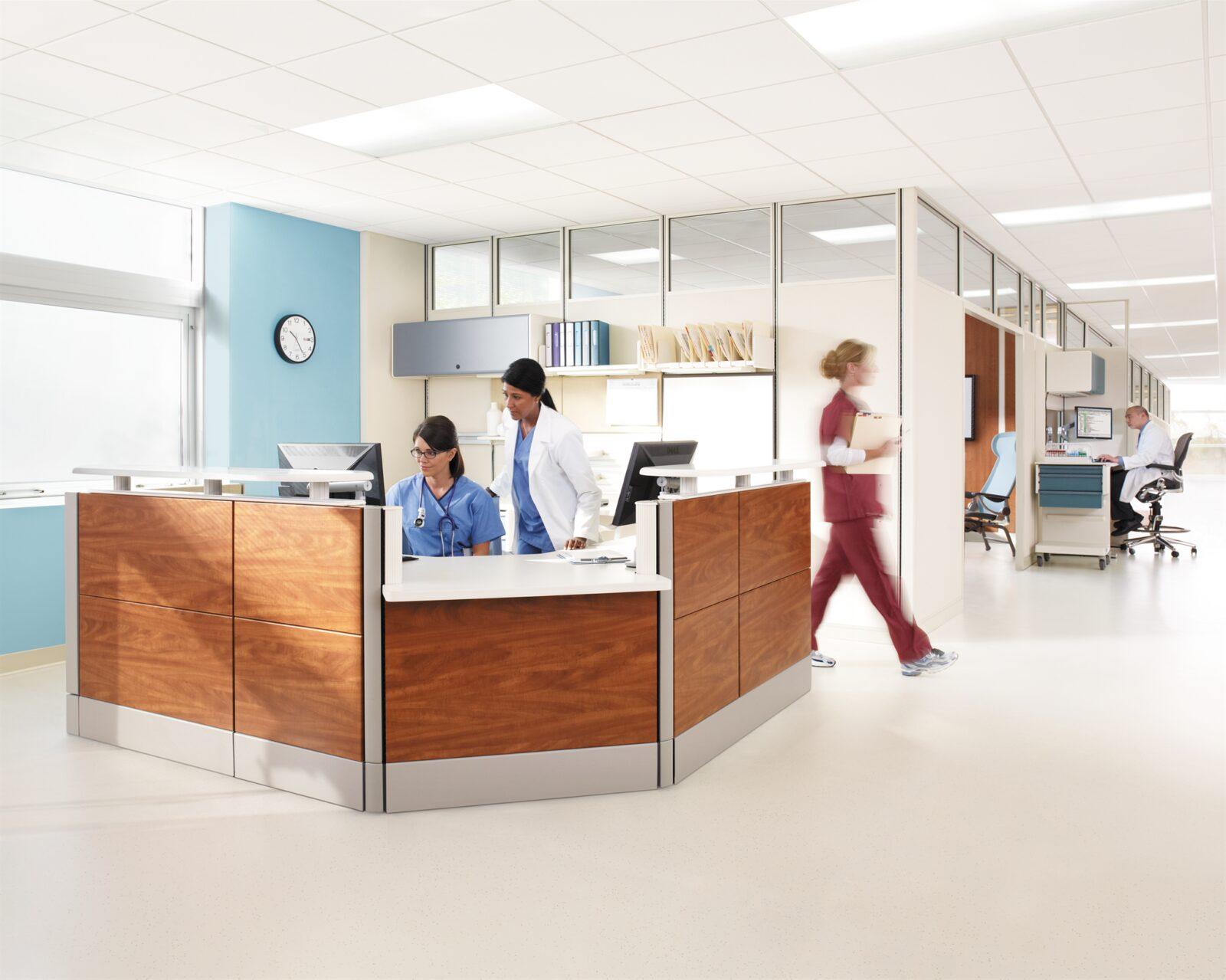 Markets Healthcare Nurses Station Gallery