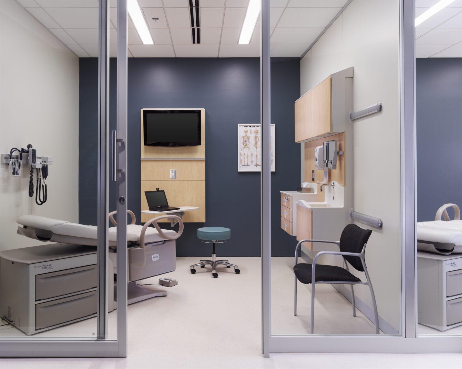 Markets Healthcare Exam Room Gallery